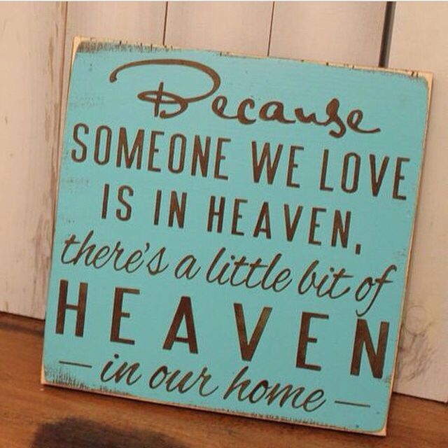 Heaven Home Signs