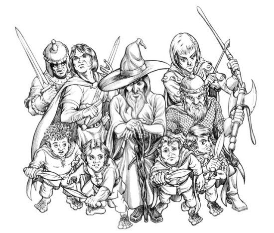 Pin By Kit Jakobs On Coloriage Tolkien Animal Kingdom Colouring Book Coloring Books Coloring Pages