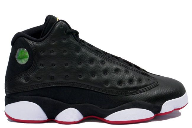 pick up f1652 18627 Michael Jordan Retro 13 Black True Red Shoes