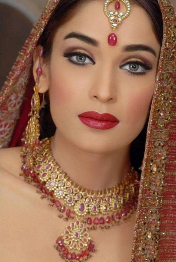 Pakistani Bridal Makeup Beautiful Women Pinterest Make Up