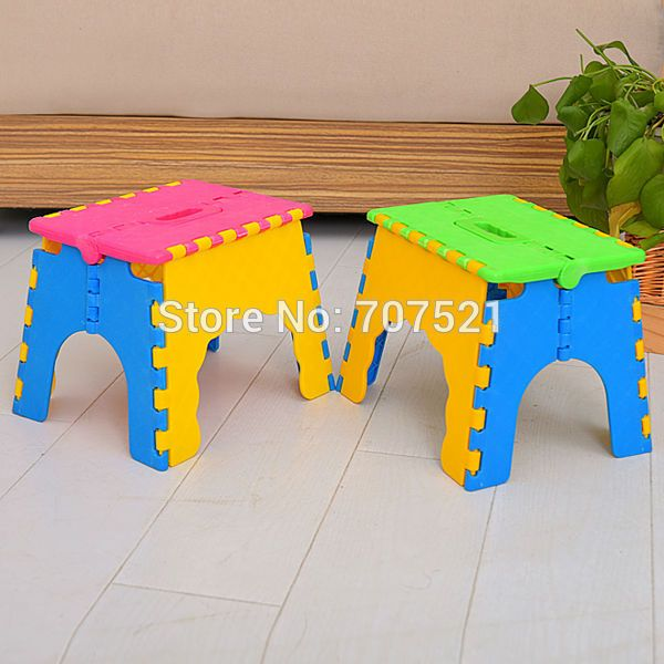 baby plastic kids chair kids portable Outdoor camping chair folding stool chair Picnic Step Stool fishing children Chair