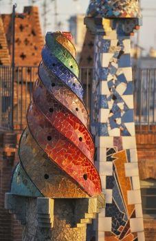 Cheminées.  Antoni Gaudì
