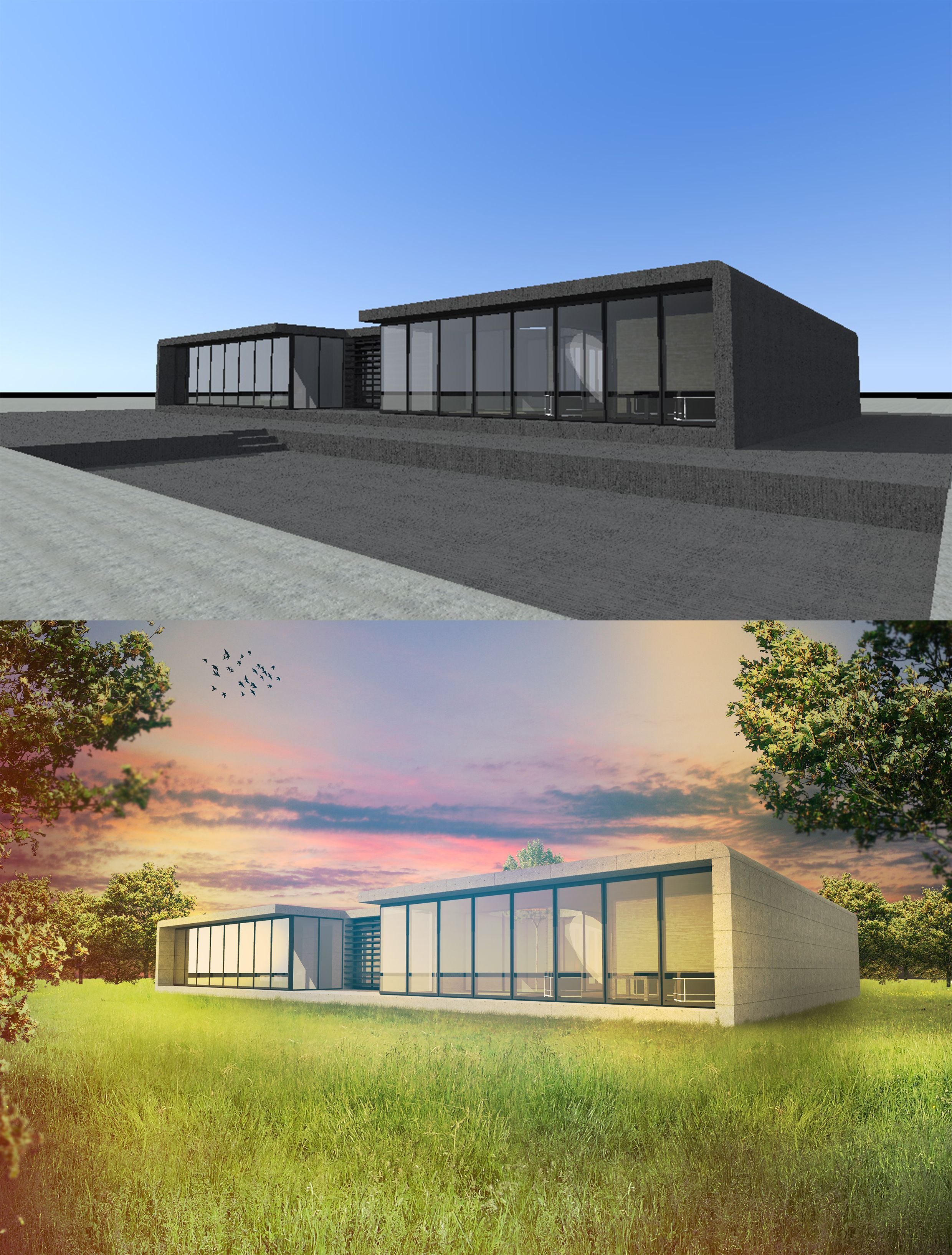 architectural rendering tutorials tips and the definitive projet ombre skp curtsy of trimble 3d warhouse google