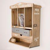 Wooden Hallway Storage Cabinet