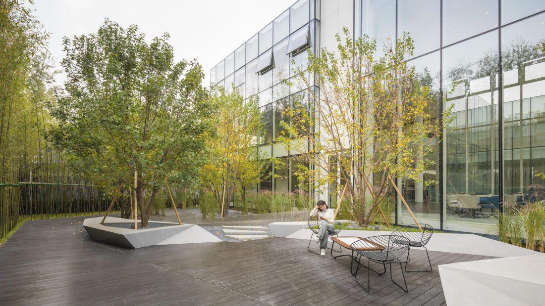 Poly Future City Landscape Design Landscape Architecture Courtyard Landscaping