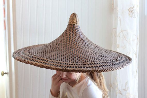 straw asian hats ideas
