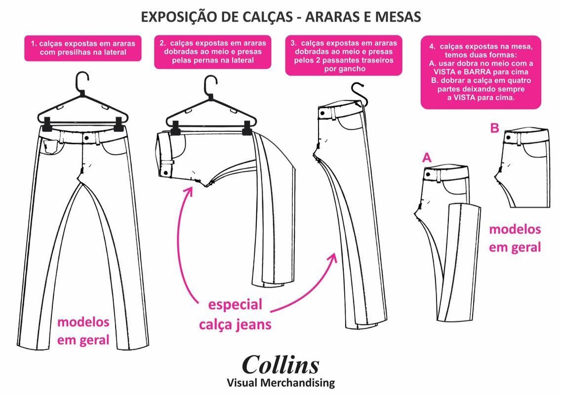 85d43d7aa64 Como expor calças