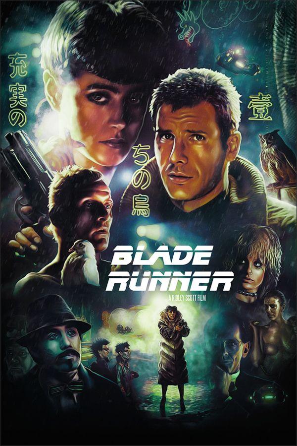 Les Meilleurs Films Science Fiction : meilleurs, films, science, fiction, Blade, Runner, Poster, Behance, Poster,, Movie, Posters