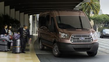 The 2015 Transit Gets A Sema Upgrade Ford Transit 2019 Ford Ford