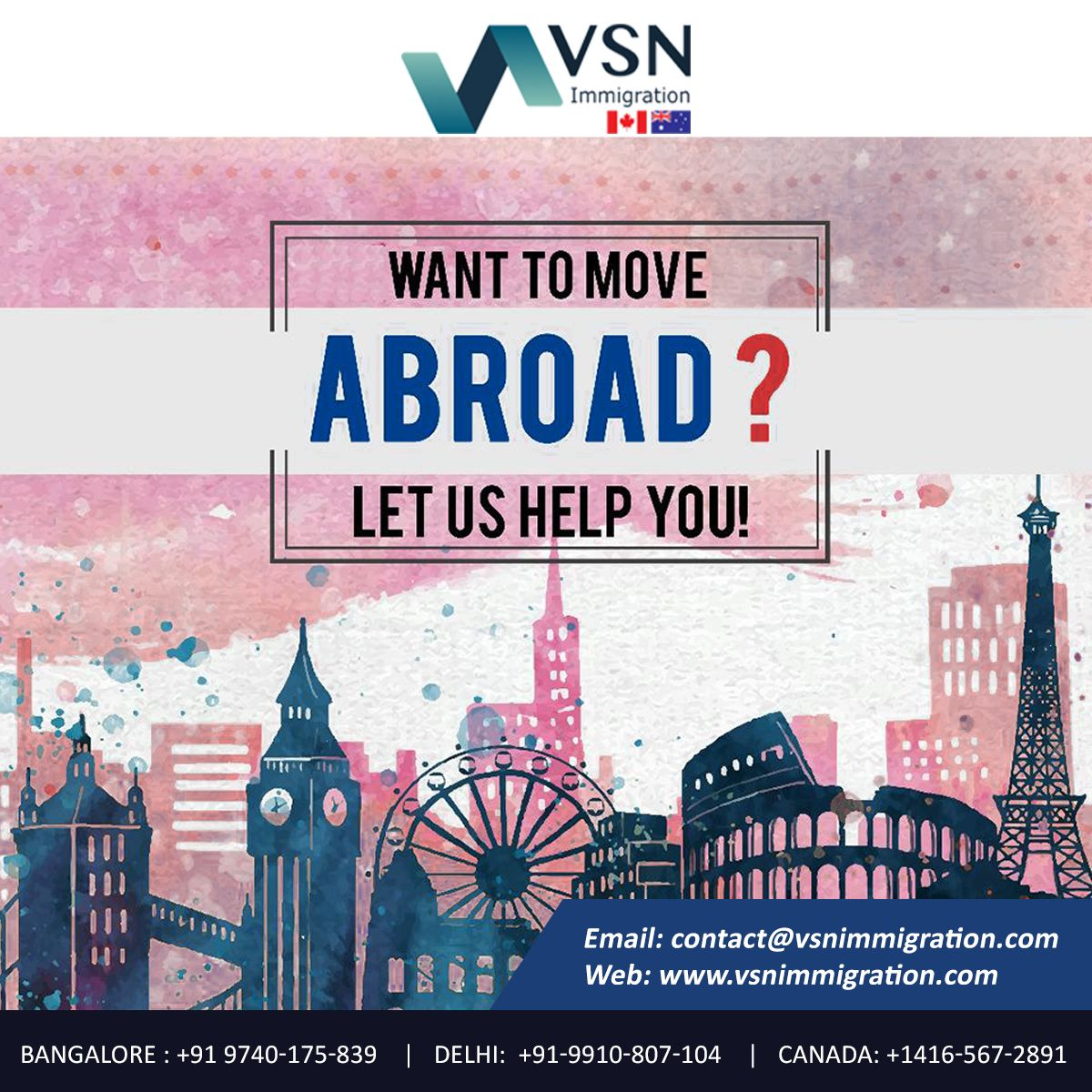 Pin On Canada Immigration Consultants In India
