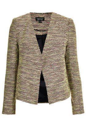 Boucle Collarless Jacket