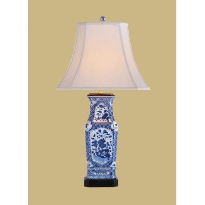 East Enterprises Inc 28 H Table Lamp With Bell Shade