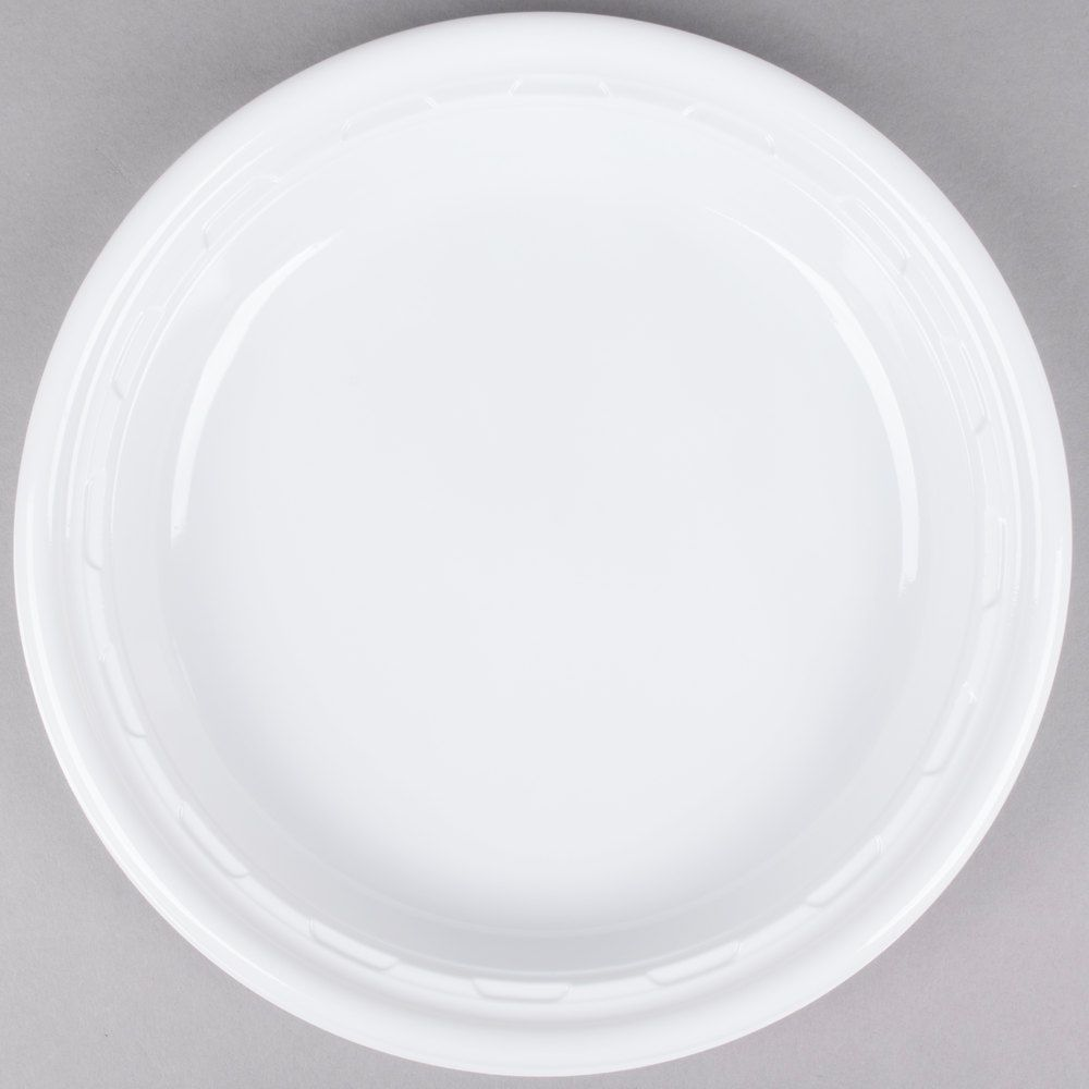 Plastic Plates · PERFECT...BUY THESE FOR WEDDING!!! Dart Solo 10PWF 10 1 & Dart 10PWF 10 1/4