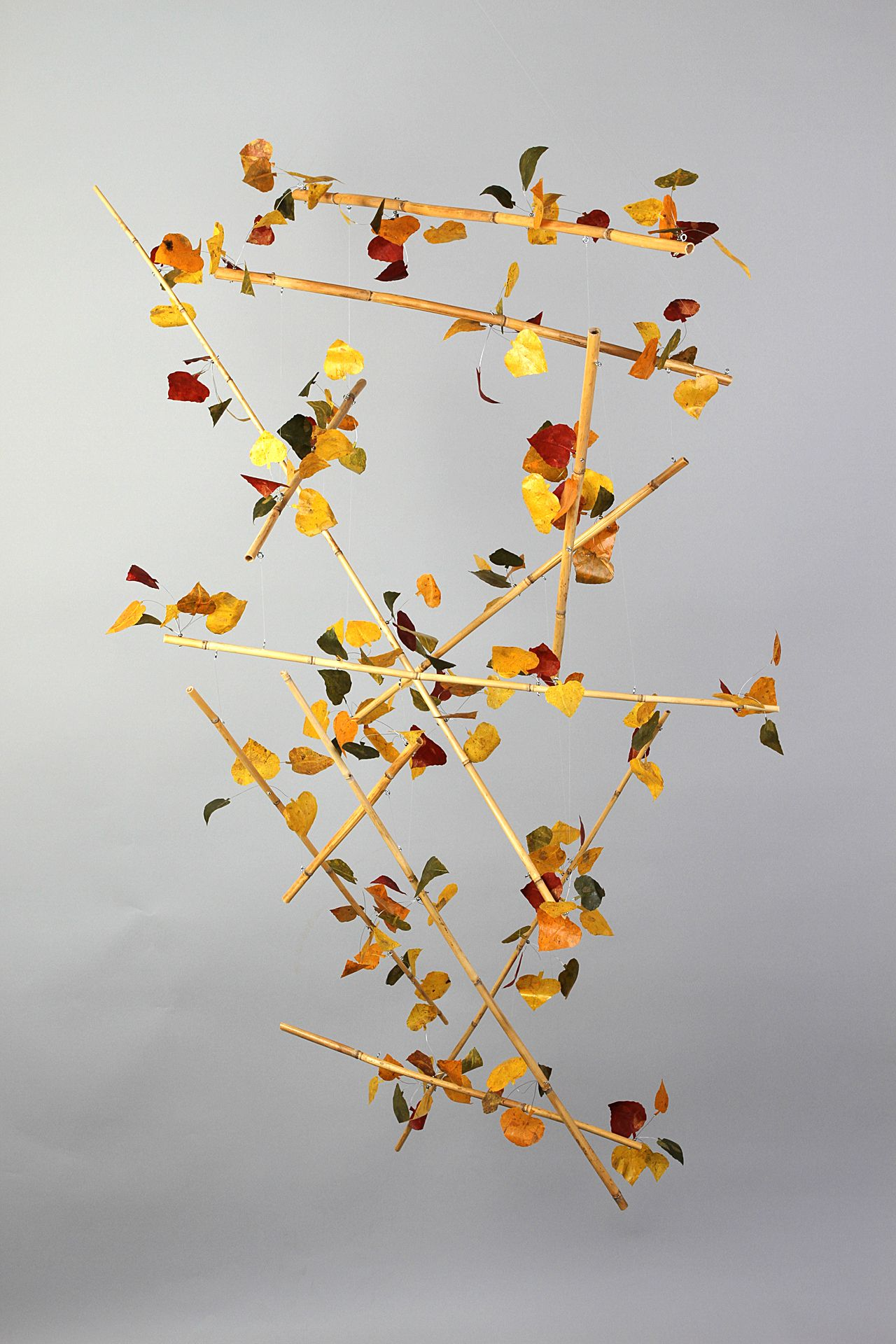 Geometry In Fall With Images Hanging Art Hanging Mobile