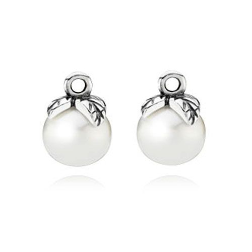 Pandora Compose Earrings: Pandora Forever Bloom Compose Earring Charms