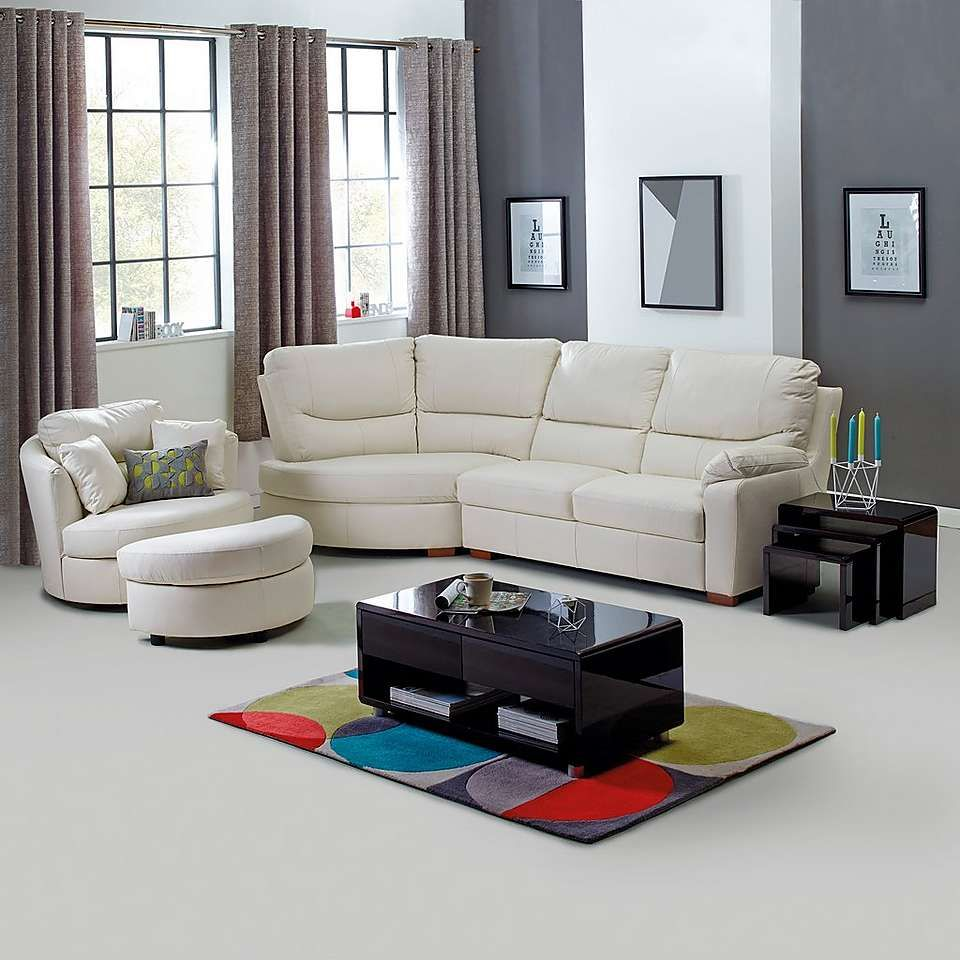 Soho Black Living Furniture Collection | Dunelm