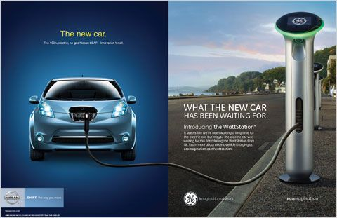 Images For Adverts Elelctric Cars Credit The Next Round Of Ecomagination Ads General Electric