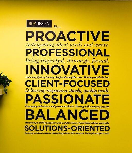 Bop-Design-Values-2015 | Words of wisdom | Pinterest | Office spaces
