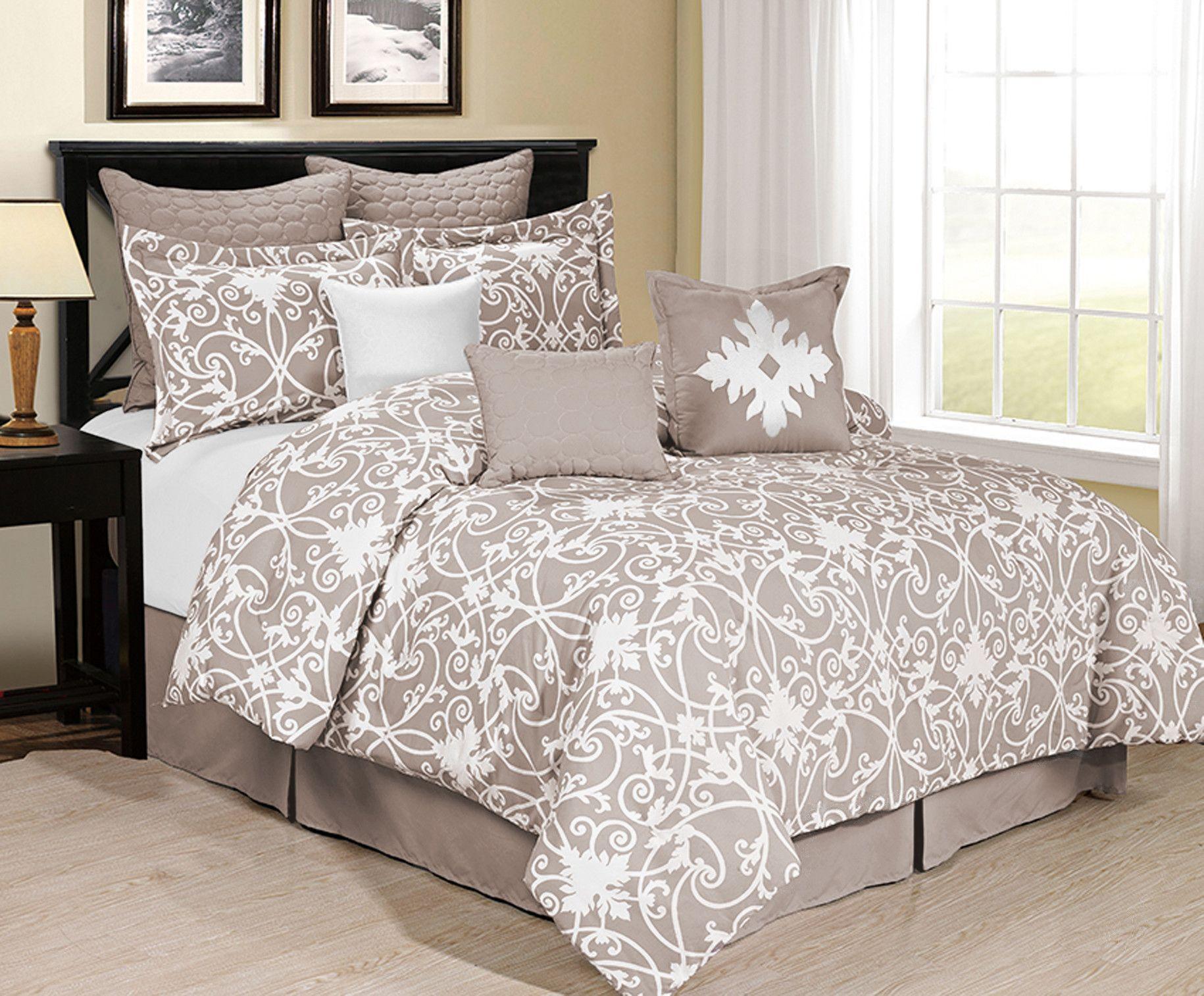 8-Piece Jeanie Comforter Set | Bedroom | Pinterest