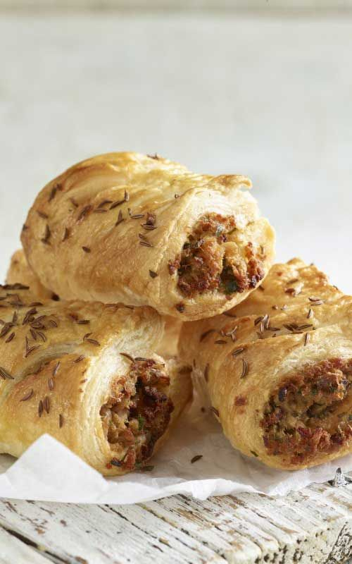 Leftover Pulled Pork Sausage Rolls Recipe