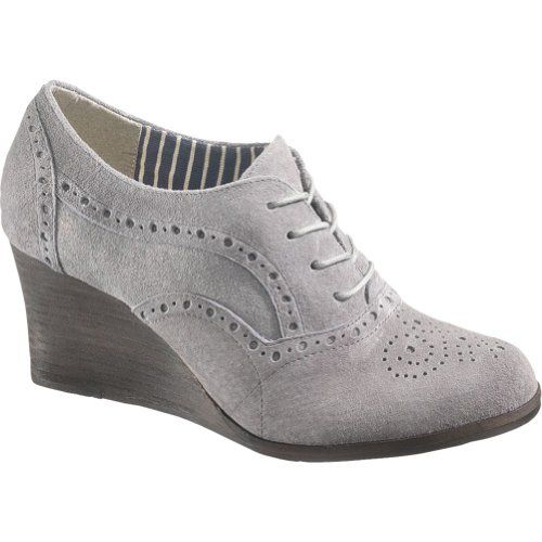 Hush Puppies Tyro Women's Vintage Shoes M in Grey Leather/Suede) in  Autumn/Winter 2012 from Hush Puppies