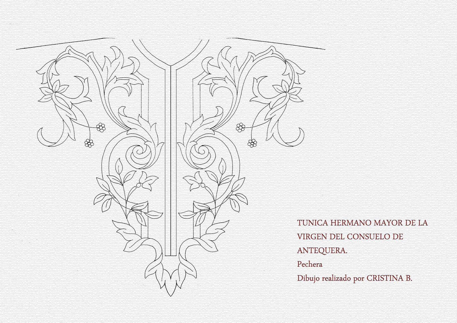 BARROCO SIGLO XXI: TUNICA HERMANO MAYOR | Bordado