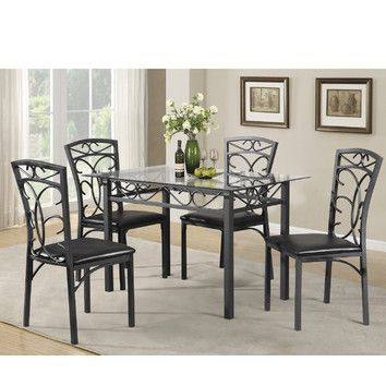 Youu0027ll love the Dearborn 5 Piece Dining Set at Wayfair - Great