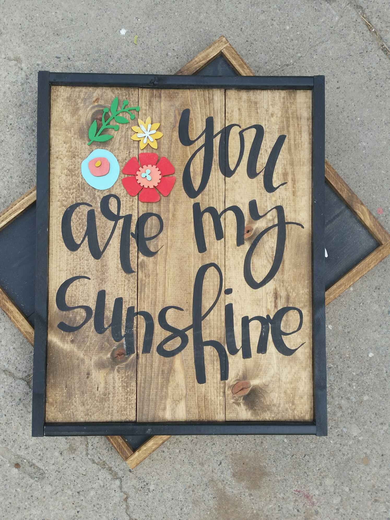 You Are My Sunshine, Home Signs