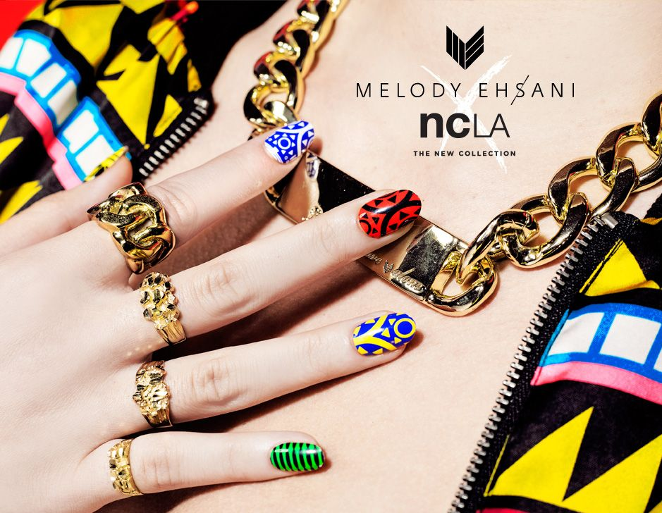 M.E. x NCLA Umoji Nail Wraps Ncla nail wraps, Nail