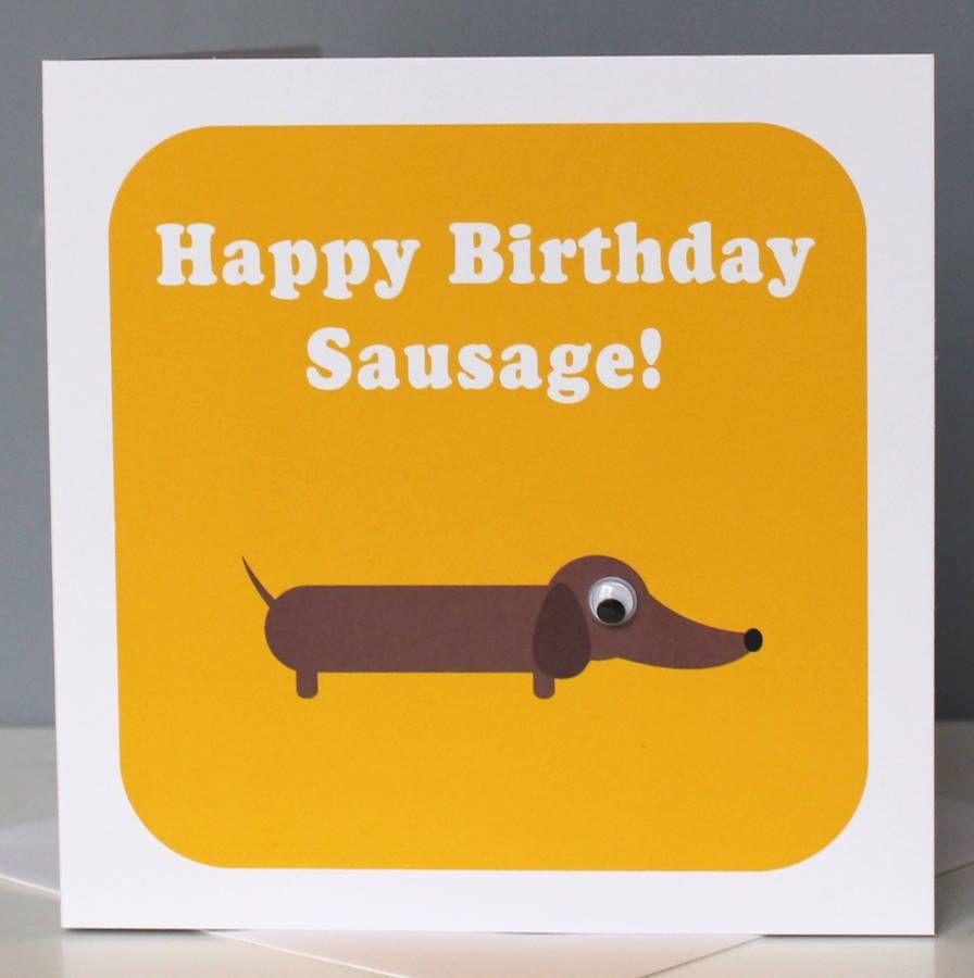 Personalised Wobbly Eyed Dog Cards