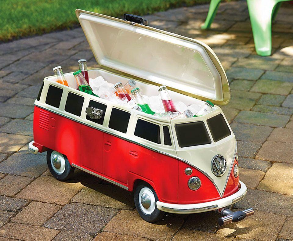 Vw Auto Kühlschrank : Vw bulli kühlbox die wohl schönste art sein bier zu kühlen