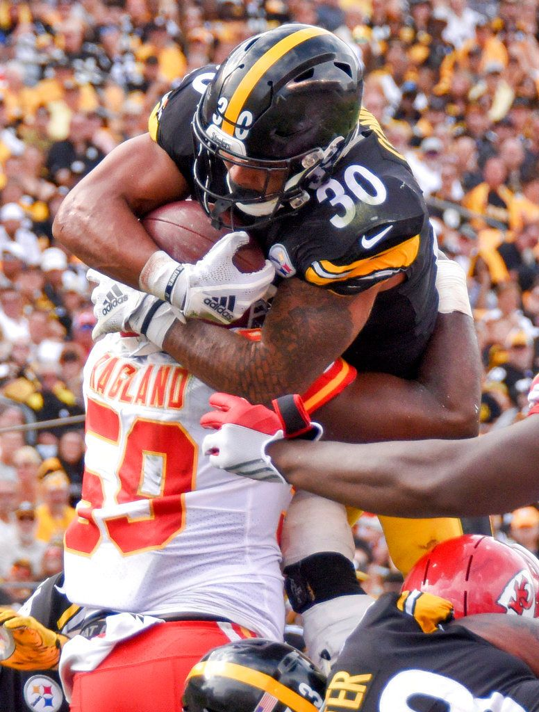 Alabama Players In The Nfl Week 2 Photo Gallery Al Com Nfl Steelers Football Football Run
