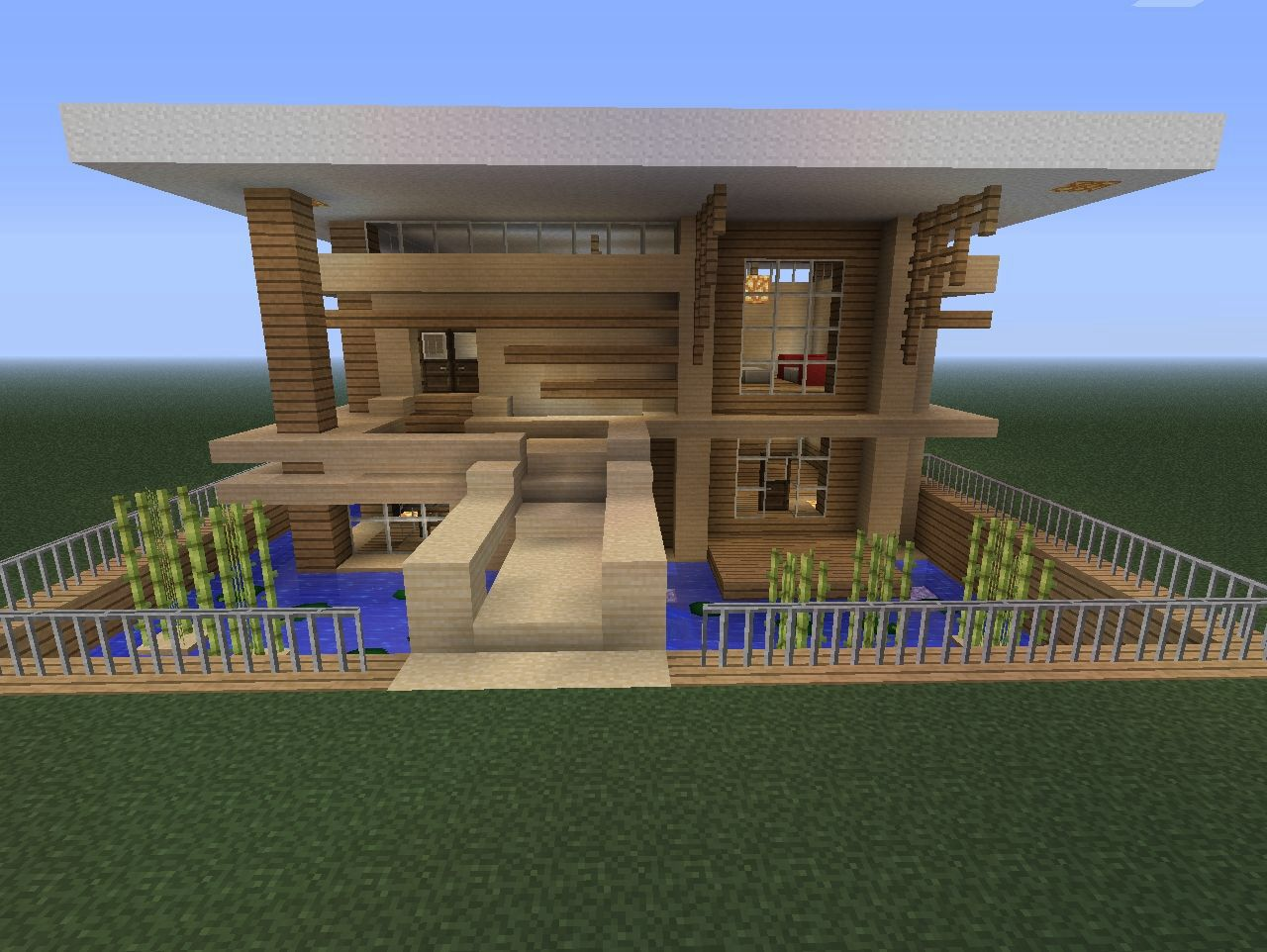 cool blueprint of a simple house.  Minecraft Awesome HousesModern Pinterest ideas stuff