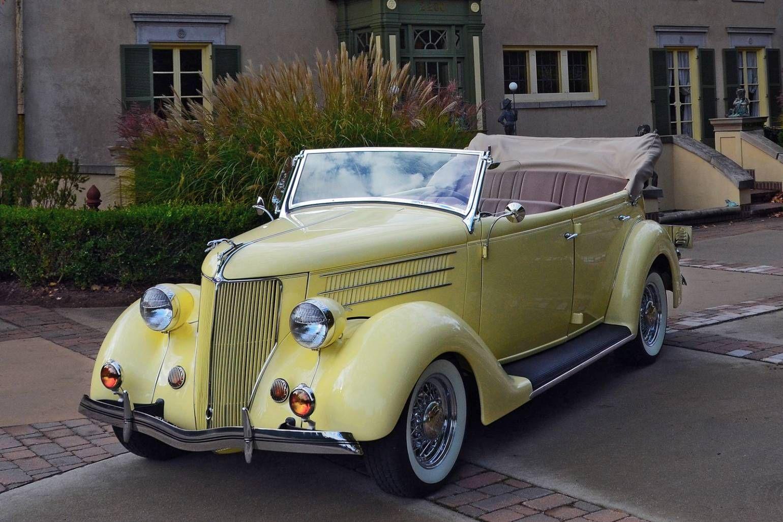 1936 Ford Cabriolet 4 Door Convertible