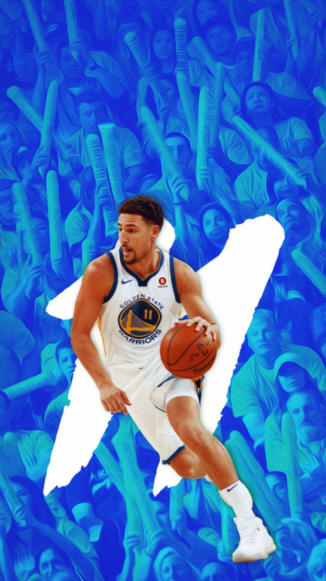 Klay Thompson Wallpaper Klay Thompson Nba Basketball Art Warriors Wallpaper