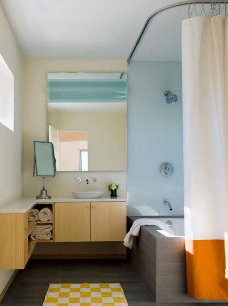 Flexible Curtain Track Small Luxury Bathrooms Bathroom Design