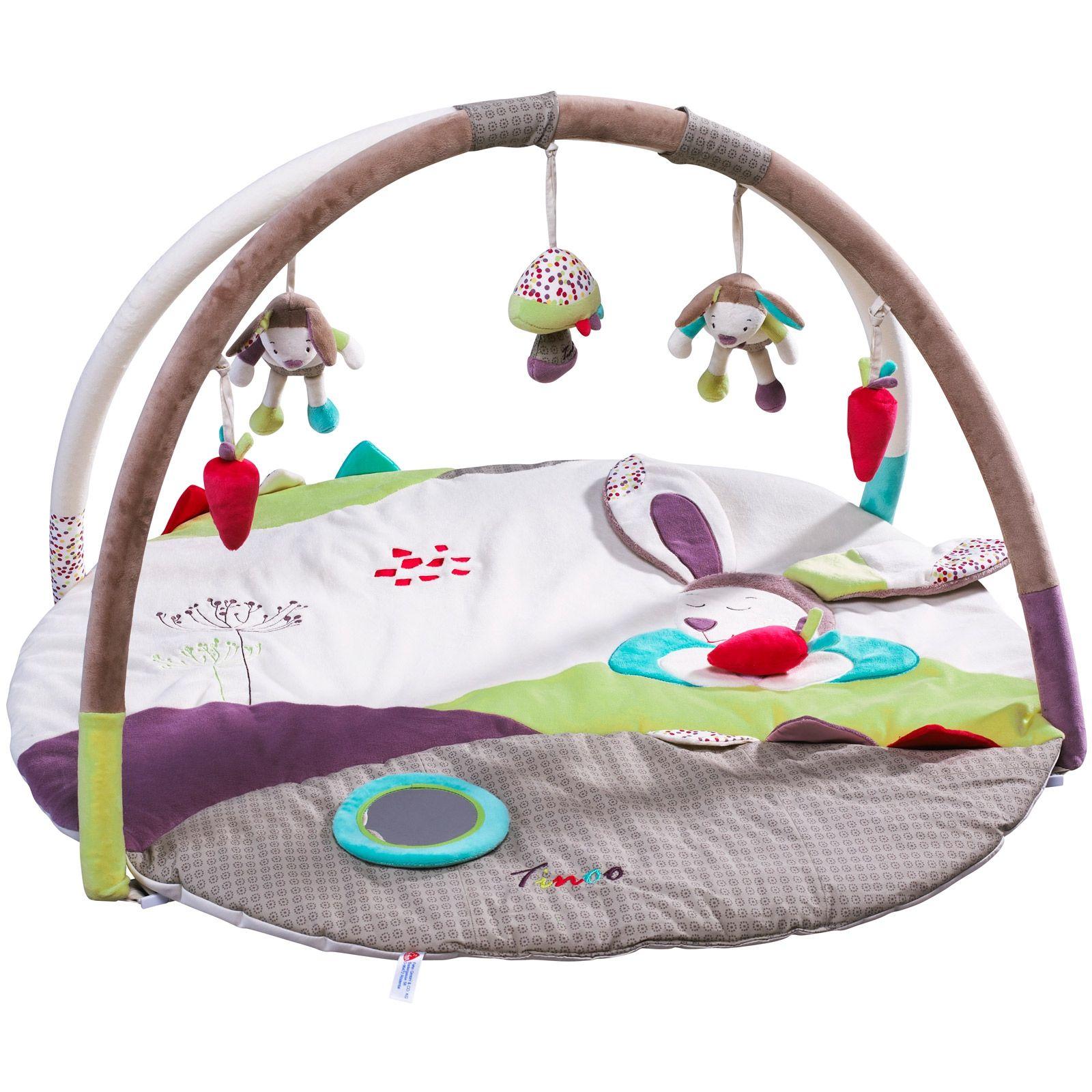Le tapis d éveil Tinoo rond de la marque Sauthon propose de