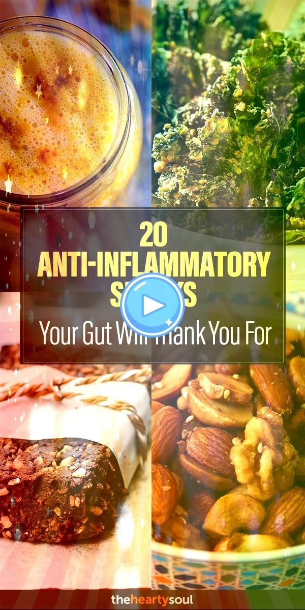AntiInflammatory Snacks Your Gut Will Thank You For  The Hearty Soul20 AntiInflammatory Snacks Your Gut Will Thank You For  The Hearty Soul TURMERIC TEA RECIPE FOR A HEAL...