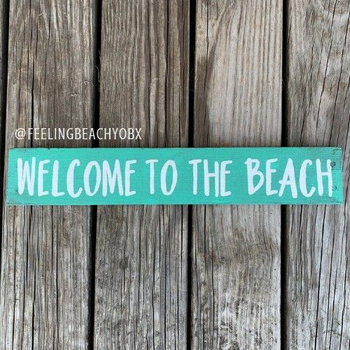 to share this item from my shop Beach House Sign  Welcome To ThebeachExcited to share this item from my shop Beach House Sign  Welcome To Thebeach Multifunctional Kitchen...