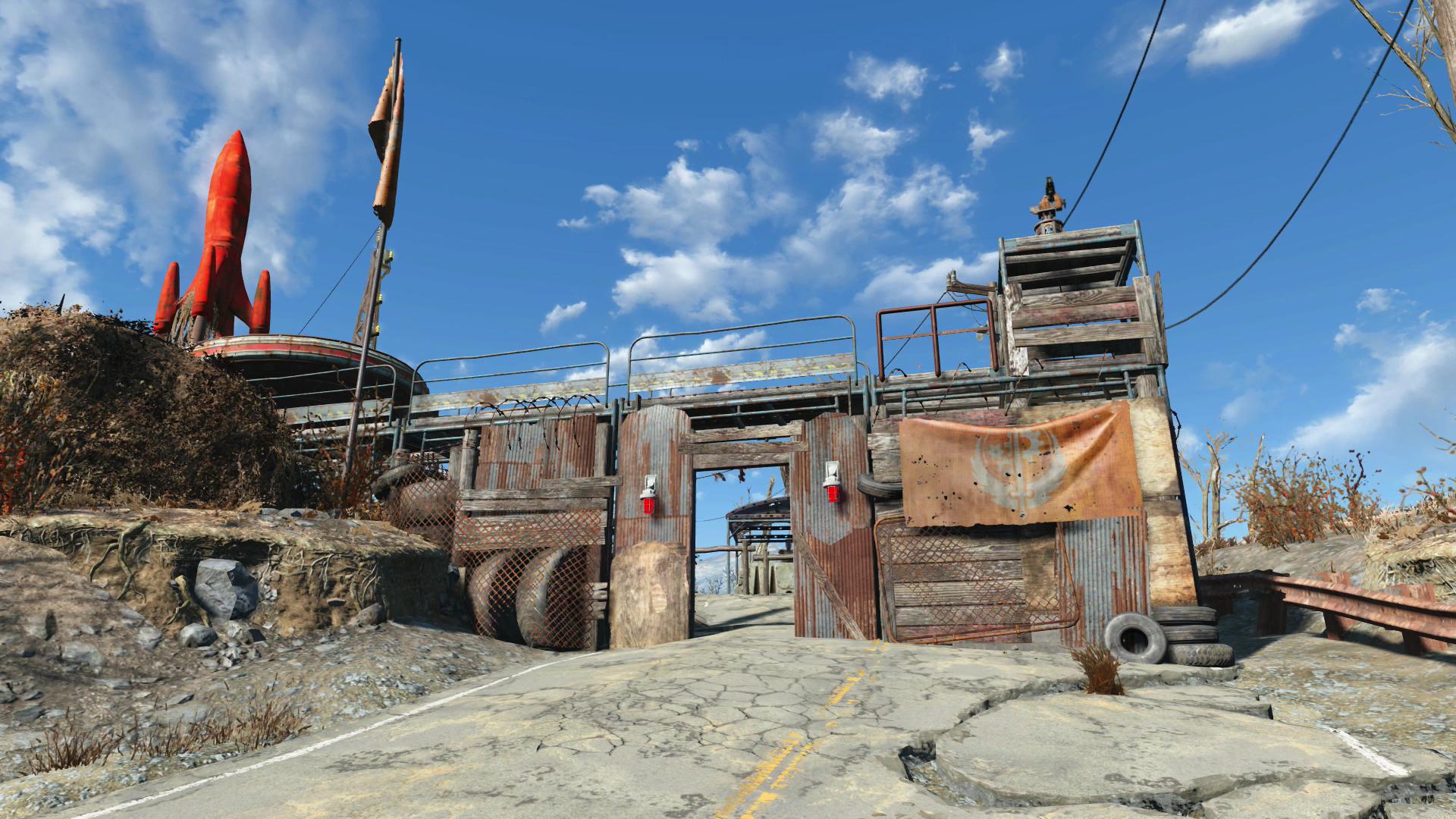 Lore-friendly] Red Rocket (Commonwealth) - megabuild