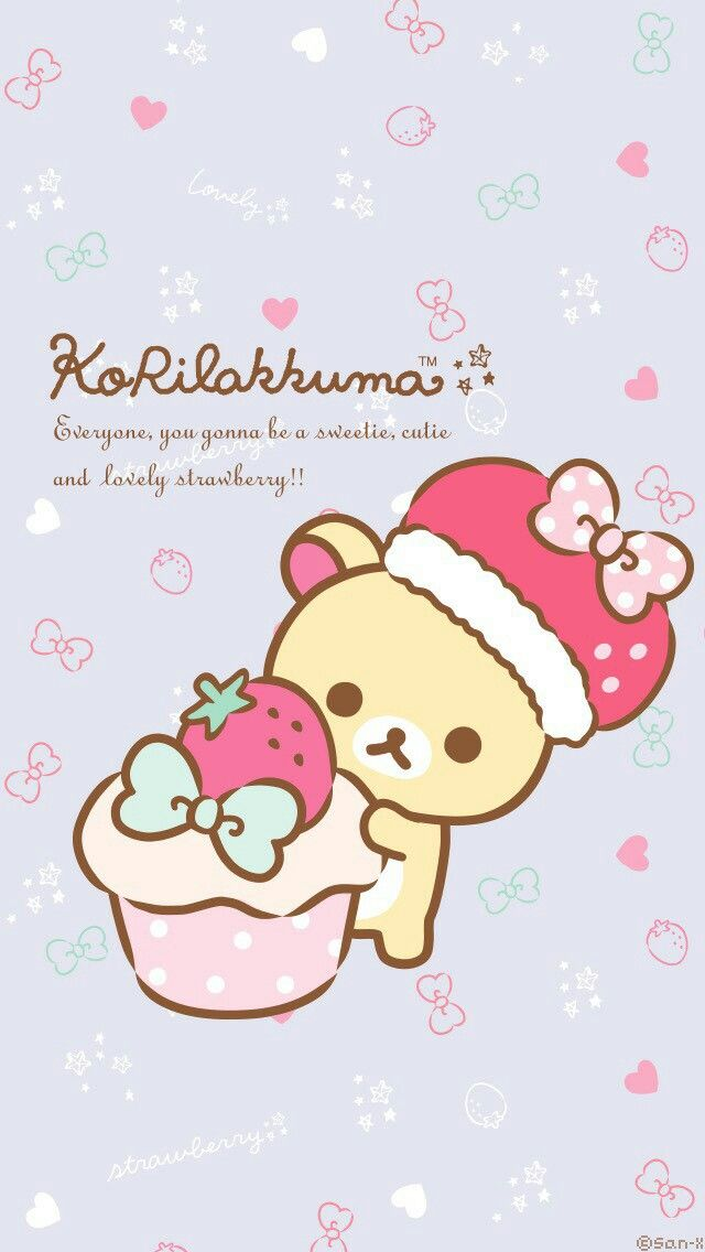 Rilakkuma Wallpaper Sanrio Danshi Phone Backgrounds Iphone Wallpapers Colorful Cute Characters Box My Melody Locks Door Latches