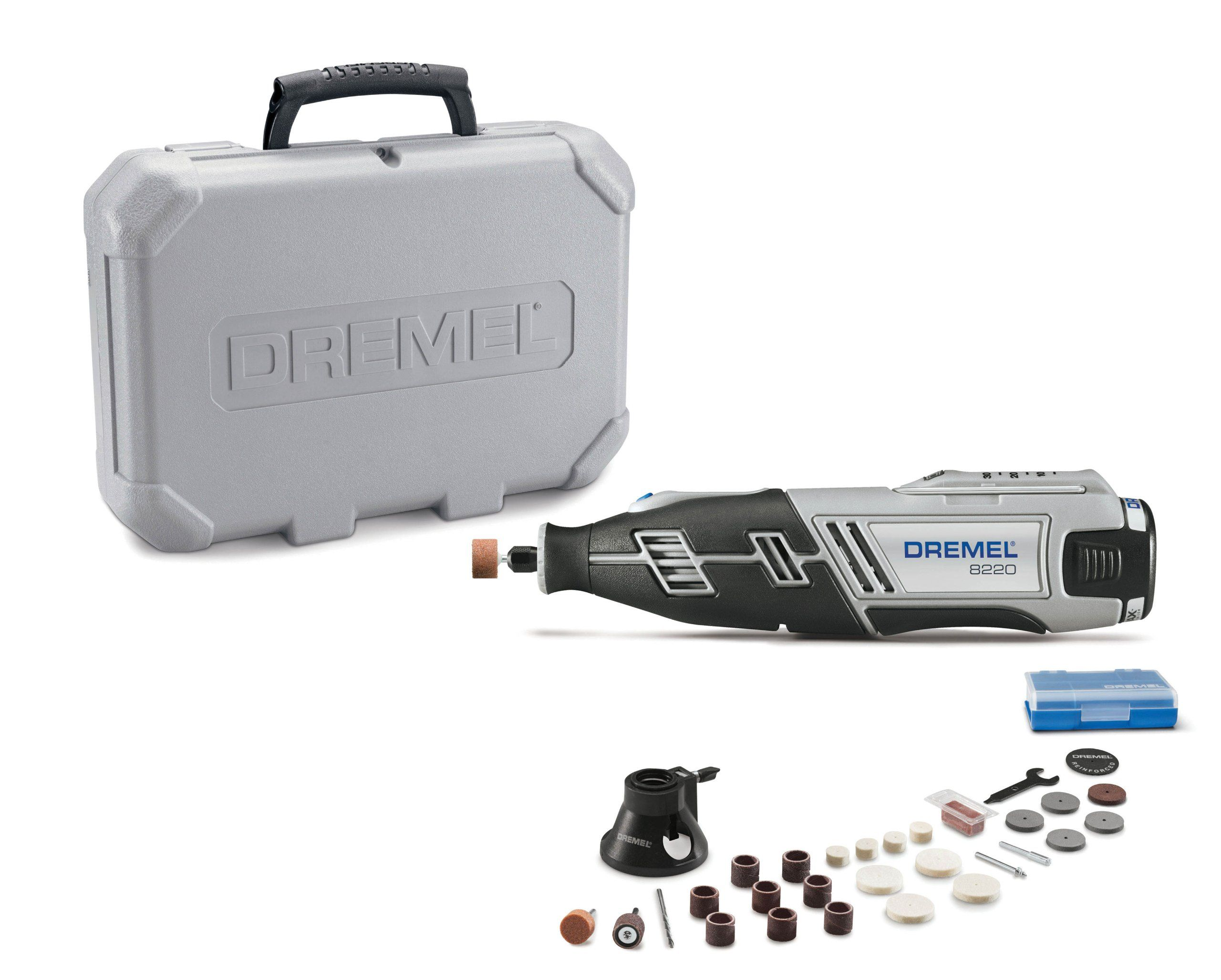 Dremel 8220128 12volt max cordless rotary tool power