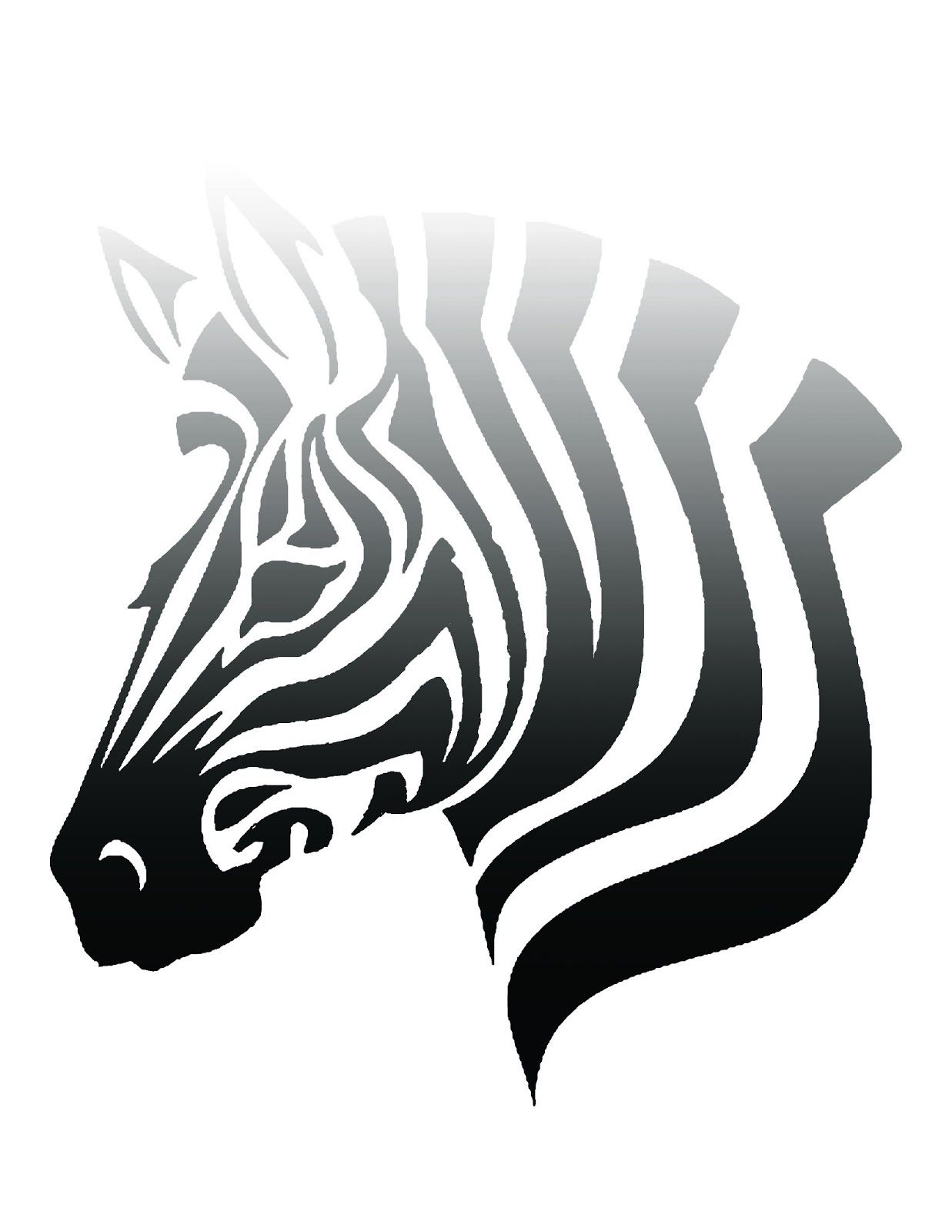 Free printable ombre zebra poster click for link to blog cute free printable ombre zebra poster click for link to blog cute for any room pronofoot35fo Gallery