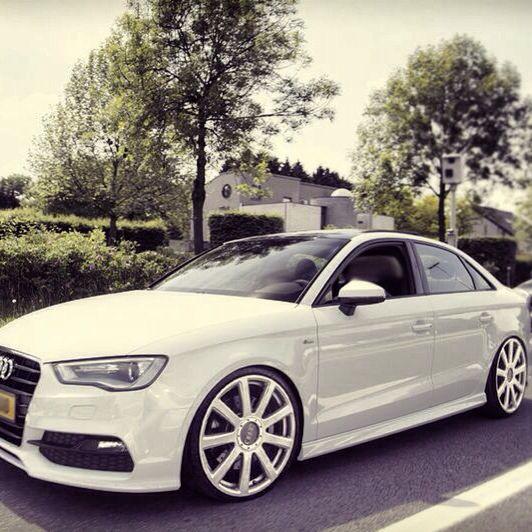 Audi A3 Limousine On 20 Inch S-line Wheels