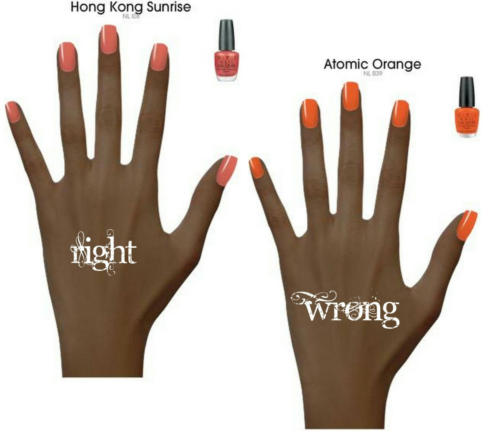 Nail polish tips for dark skin. | Beauty. | Pinterest | Pedi, Hair ...