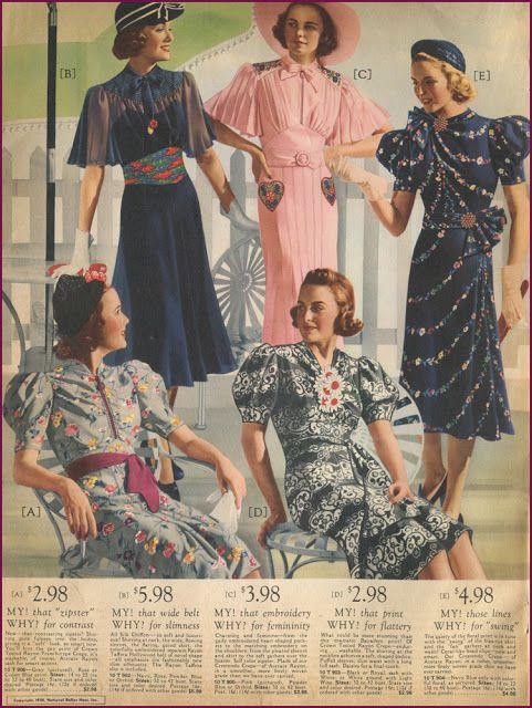 Catalog Sunday Fashion Through The Decades Womens Dresses Uk 1930s Fashion Women