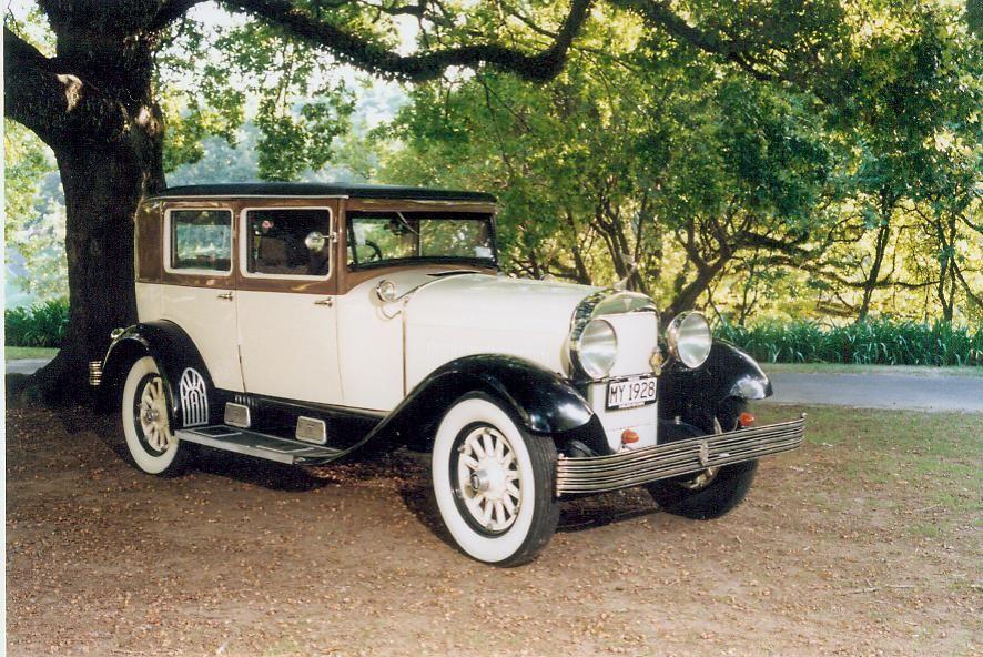 Wedding Car Standard 1928 Hudson