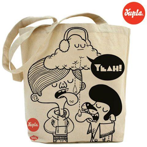bolso dupla / dupla tote bag by kapitan ketchup, via Flickr