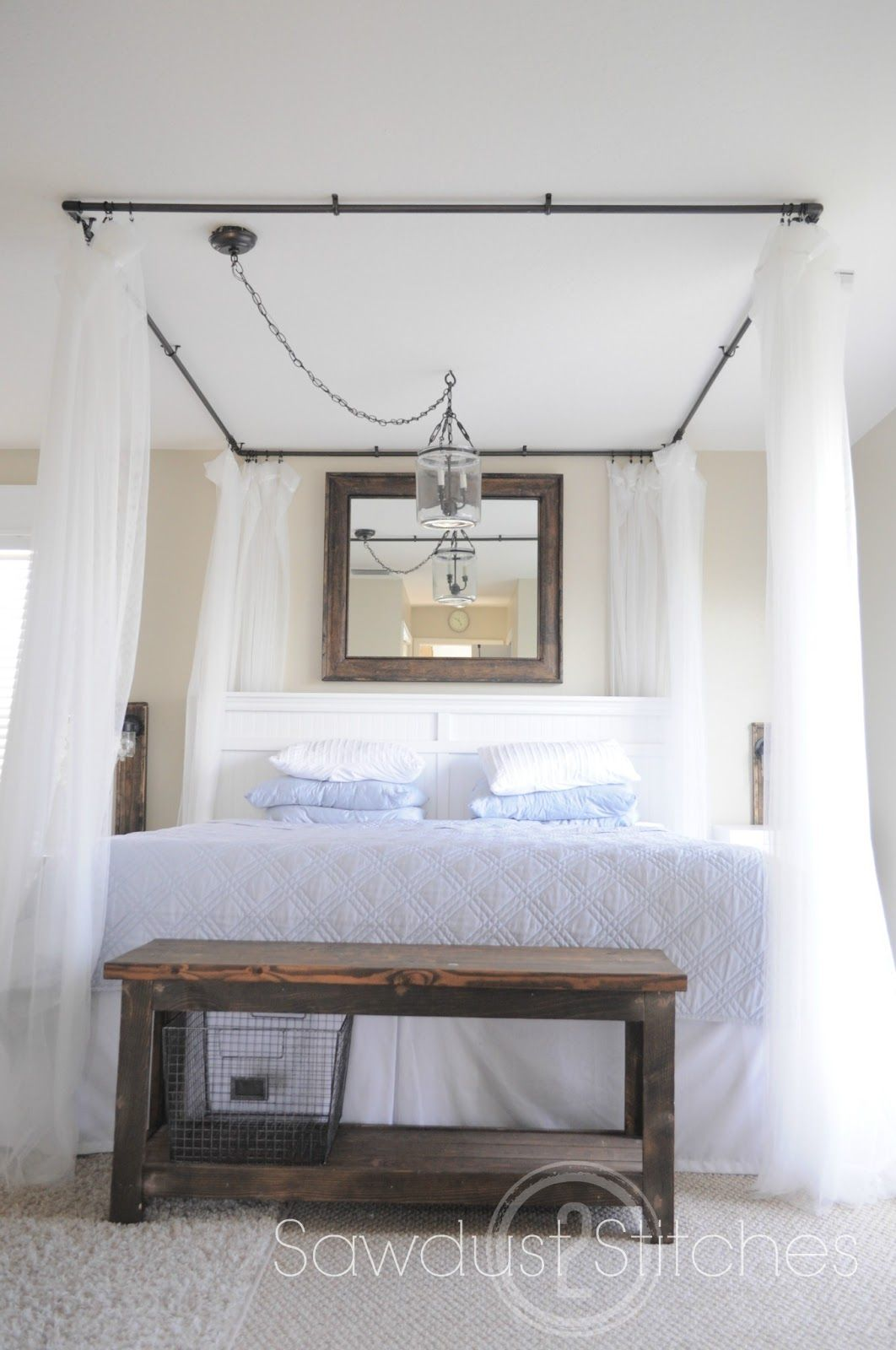 High Quality 10 Beautiful DIY Canopy Beds