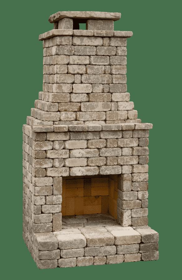 Shop Diy Kits Outdoor Fireplace Kits Diy Outdoor Fireplace Fireplace Kits